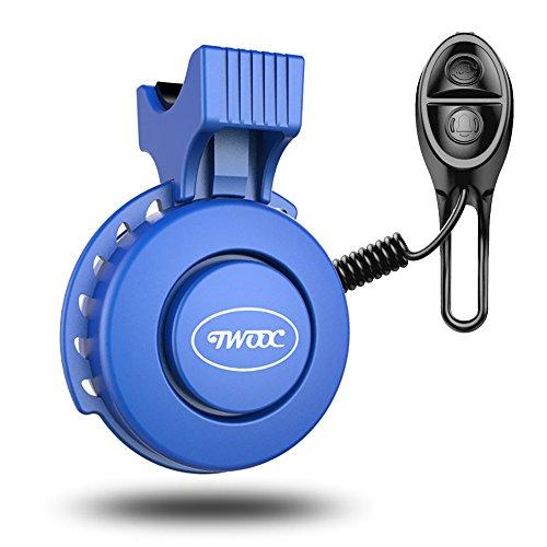 SZSMD Elektrische Fahrradklingel 120 DB Wasserdicht und USB Wiederaufladbar Fahrrad-Klingel, Lenker Klingelring mit 3 Klänge Modi
