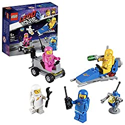 Build a THE LEGO MOVIE 2 spaceship with a minifigure seat and a lunar buggy with two minifigure seats and enjoy exciting adventures with Benny's Space Squad Recreate action-packed adventures from THE LEGO MOVIE 2 with this astronaut building set for ...