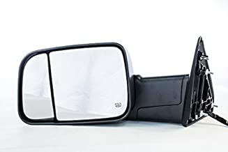 Dependable Direct Left Drivers Side Power Operated Non-Folding Heated Towing Mirror for 15-16 Ram 1500, 2500, 3500 - Parts Link # CH1320350