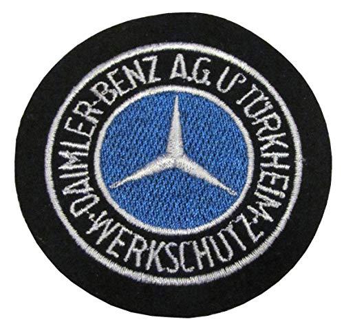 Werkschutz - Daimler Benz AG Türkheim - Ärmelabzeichen - Abzeichen - Aufnäher - Patch - Motiv 1