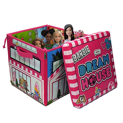 Barbie NT002.00 Zipbin Dream House, Multicolour