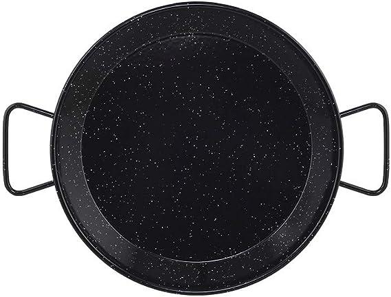 Metaltex - Paellera Acero Esmaltado 30 Raciones 70 cm