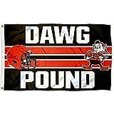 WinCraft Cleveland Browns Dawg Pound Flag