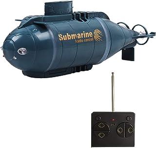 YEIBOBO ! 6 Channels Mini RC Submarine Toy (Blue)