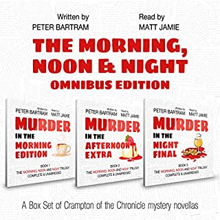 The Morning, Noon & Night Omnibus Edition: Three Books, One Volume audiobook cover art