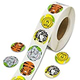 Zoo Tier Animal Sticker Rolle für Kinder