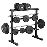<span class='highlight'><span class='highlight'>Popamazing</span></span> 3 Tier Heavy Duty Multipurpose Gym Dumbbell Rack Stand Holder For Hex Rubber Dumbbells Holds Storage
