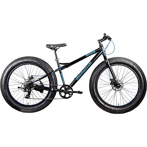 Galano 26 Zoll Fatbike Fatman Mountainbike MTB Hardtail 4.0 fette Reifen Fahrrad (schwarz/blau) - 2