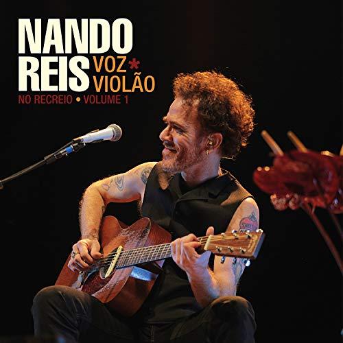 Nando Reis, LP Duplo Voz E Violão - No Recreio - Volume 1 [Disco de Vinil]