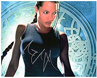 Photo Angelina Jolie Autograph Signed 8 x 10