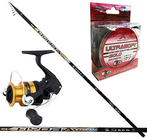 agc Super Kit BOLO, Evo Fishing Hydra Extreme BOLO 6 m + Shimano FX 2500 + Evo Ultrasoft Bolo Nylon Clear 200 m
