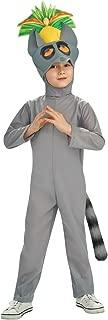 The Penguins of Madagascar Deluxe King Julien Child Costume, Medium (8-10)