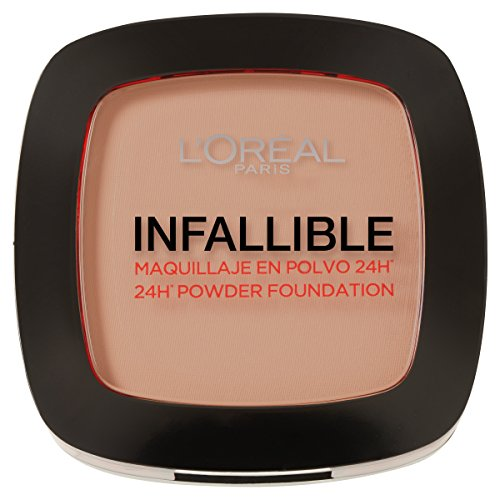 L´Oréal Paris Make Up Designer Infallible Foundation, Maquillaje en Polvo, Color 245
