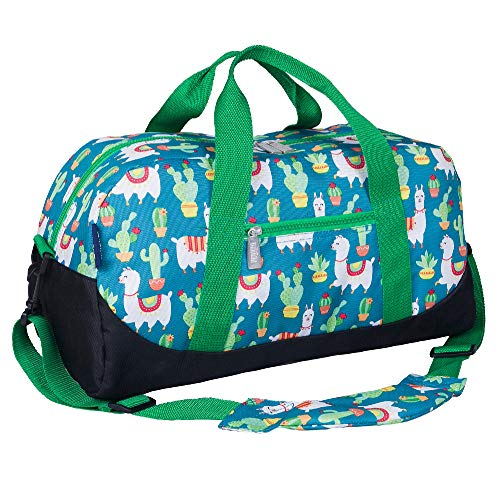 Wildkin Kids Overnighter Duffel Bag For Boys And Girls, Carry-On Size And Perfect For After-School Practice Or Weekend Or Overnight Travel, Patterns Coordinate With Our Nap Mats And Sleeping Bags