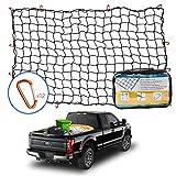 Tchipie 4x6 Ft Bungee Cargo Net for Pickup Truck Bed, Heavy Duty Cargo Netting...