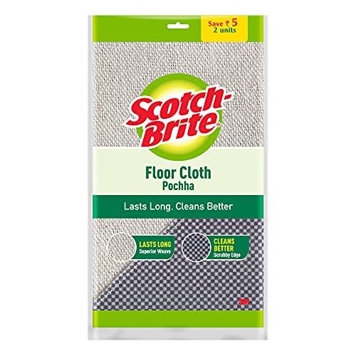 Scotch Brite Floor Cleaning Cloth Pocha - Set of 2 Pcs (Pack of 3) (IE840101299)