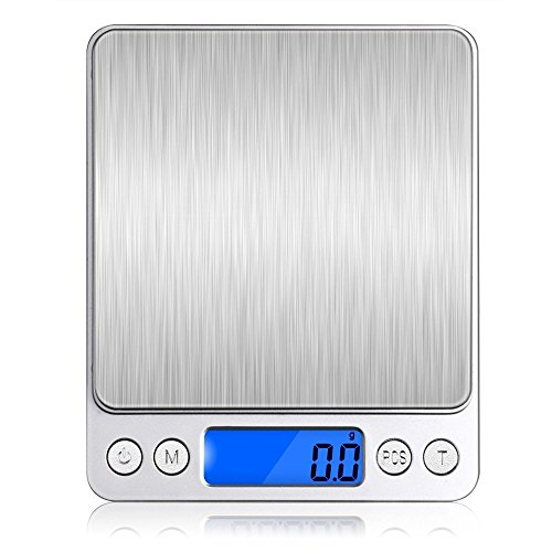 Kitchen Pocket Food Digital Scales Slim LCD Electronic Cooking Grams Scal