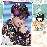 Puzzle 1000 Piezas Cantante Coreano de BTS Bangtan Boys Artistic Character Puzzle 1000 Piezas paisajes Rompecabezas de Juguete de descompresión Intelectual Educativo divertido50x75cm(20x30inch)