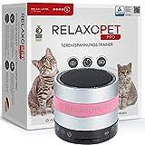 RelaxoPet PRO Entspannungstrainer | TÜV Zertifiziert | Für Katzen | Beruhigung durch Klangwellen | Ideal bei Gewitter, Alleinsein oder Reisen | Hörbar und unhörbar