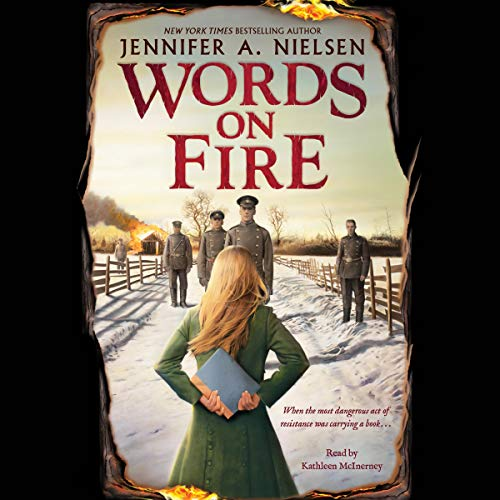 Words on Fire audiobook cover art
