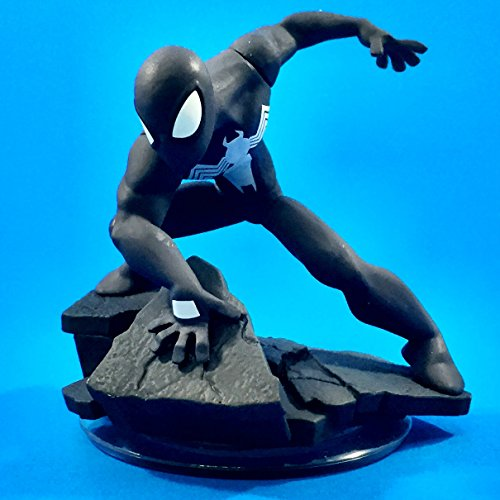 Disney Infinity: Marvel Super Heroes (2.0 Edition) Spider-Man Black Costume Figure by Disney Interactive Studios