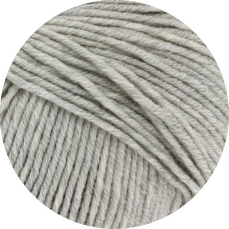 Lana Grossa Cool Wool Big 616 Hellgrau meliert