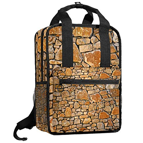 Yitian Backpacks stone wall Backpack traveling middle school high school
