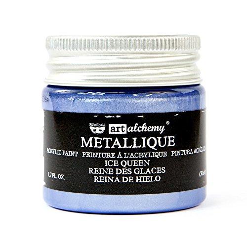 Prima Marketing Metallique Ice Queen Finnabair Art Alchemy Acrylic Paint 1.7 Fl. Oz