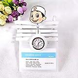 Enfermera Clip Reloj De Bolsillo,Linda Mesa de Enfermera retráctil de Silicona, Reloj de Bolsillo...