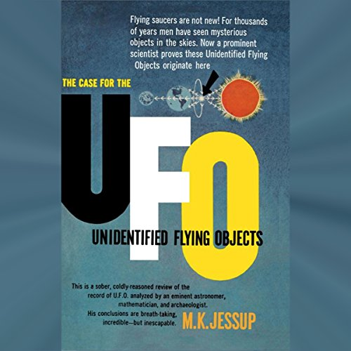 The Case for the UFO audiobook cover art