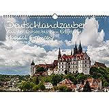 Calendario DIN A3, diseño de Alemania de la magia del mar Báltico a los Montes Metálicos