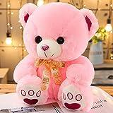 Plüsch Teddybär Teddy Bear XXL Deko Kissen Kinder Baby Zimmer Stuffed Animal Eisbär Soft Toy Plüschbär Mädchen Junge Geschenk Rosa 13.8'