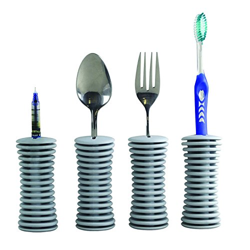 Universale Griffverdickung | Handgriffverdickung | Greifhilfe | für Besteck, Zahnbürste, Stifte (4)