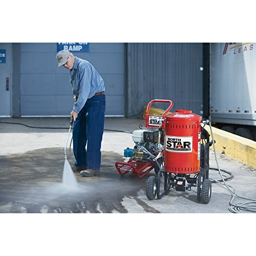 Northstar Electric Wet Steam Cleaner and Hot Water Commercial Pressure Power Washer Add-on Unit - 4000 PSI, 4 GPM, 115 Volts