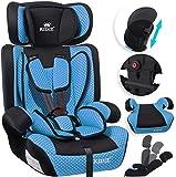 KIDIZ® Autokindersitz Kindersitz Kinderautositz   Autositz Sitzschale   9 kg - 36 kg 1-12 Jahre   Gruppe 1/2 / 3   universal   zugelassen nach ECE R44/04   6 verschiedenen Farben   Blau