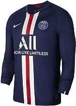Nike 2019-2020 PSG Long Sleeve Home Football Soccer T-Shirt Jersey