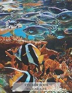 Marine Life Botany Biology Zoology Ecology Oceanography Blank Sticker Book, Great gift Idea for Boys Girls Toddlers Women ...