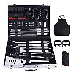 Ohuhu 31-PCS BBQ Tool Set