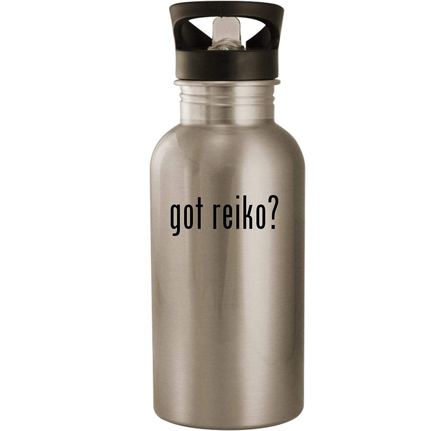 got reiko? - Stainless Steel 20oz Road Ready Water Bottle, Silver