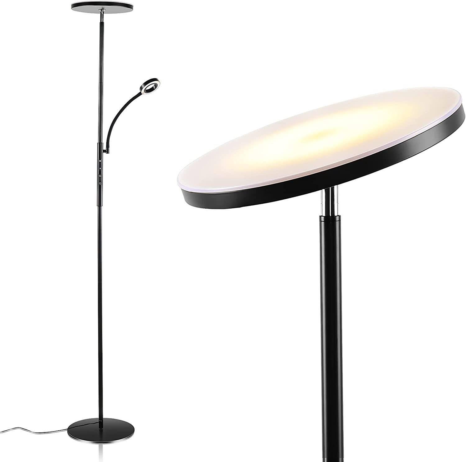 Otdair Dimmable 3-Color LED Floor Lamp $19.99 Coupon