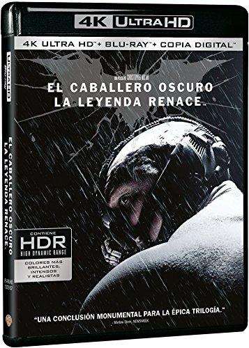 El Caballero Oscuro: La Leyenda Renace Blu-Ray Uhd [Blu-ray]