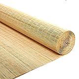Persiana de bambú Sun Shade Panel Privacidad Exterior...