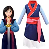 YXRL Niños Cosplay Disfraces Anime Halloween Princesa Vestido De Niña De Tres Piezas Set De Ropa De Carnaval Blue-130