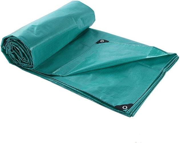 Tissu Anti-poussière épais De Bache 200g   M2 D'épaisseur 0.25mm De Bache D'extérieur Imperméable De Bache D'extérieur Vert De PE (taille   5  8M)