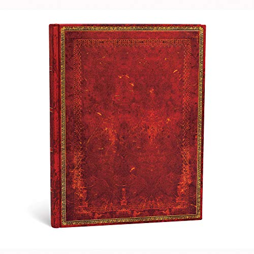 Paperblanks PB3513-8 Diari a Copertina Rigida Rosso Veneziano, Righe, Ultra (180 × 230 mm)