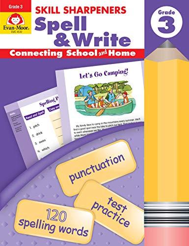 Skill Sharpeners Spell & Write, Grade 3