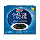 Glisten Disposer Care Foaming Drain/Pipe Cleaner, 4 Uses, White, Blue, 4 per Pack