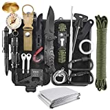 Best Survival Kits - Emergency Survival Kit, 22 in 1 Professional Survival Review