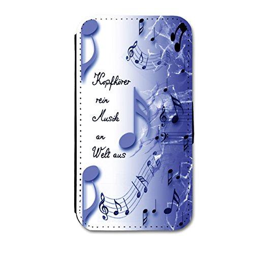 Book Style Flip Handy Tasche Case Schutz Hülle Schale Motiv Etui für Huawei Ascend Y330 - A42 Design11 - 2