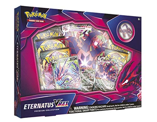 Pokémon TCG: Eternatus VMAX Premium Collection, Multicolor